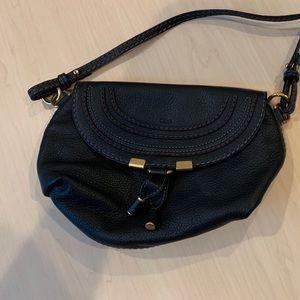 CHLOE Calfskin Marcie Pochette Crossbody Bag